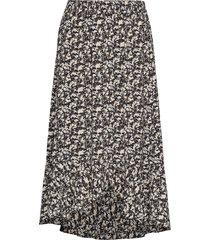 kaeliw skirt lång kjol grå inwear