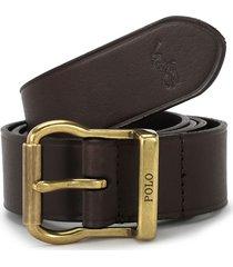 cinturon brown polo ralph lauren