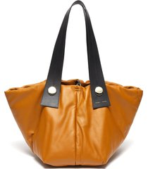 'tobo' padded leather tote