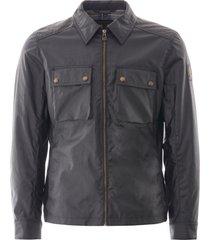 belstaff dunstall jacket - dark navy  c61n0158-80010