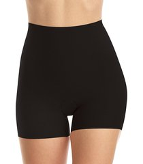 commando women's stretch-cotton control shorts - black - size s