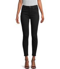 hudson women's high-rise ankle skinny jeans - warwick - size 31 (10)