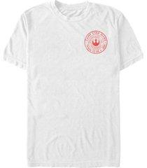 fifth sun star wars men's train to be a jedi camp logo short sleeve t-shirt