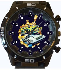 back to future new gt series sports unisex gift watch