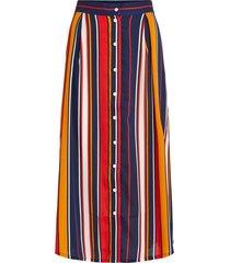 middellange rok high waist