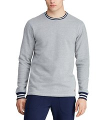 polo ralph lauren men's brushed fleece pajama shirt