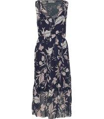 dress knälång klänning multi/mönstrad rosemunde