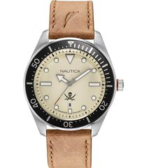 reloj casual marrón nautica