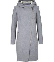 giacca lunga con cerniera asimmetrica (grigio) - bpc bonprix collection