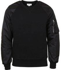 alexander mcqueen hybrid sweatshirt