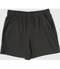 pantaloneta verde oliva under armour qualifier wg perf short 5in