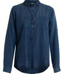 moscow indigo blouse - fw19-25.01