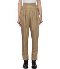 inner western studded outseam pants