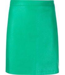 andamane bertha fitted skirt - green