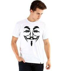 camiseta ouroboros manga curta anonymous masculina