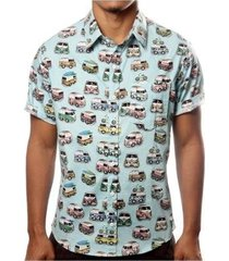 camisa camaleão urbano kombi masculina