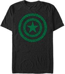 fifth sun men's clover shield short sleeve crew t-shirt