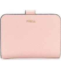 furla floral bi-fold wallet - pink
