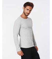camiseta gris eyelit