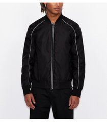 men's linear milano new york bomber jacket