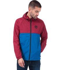 mens colour block windbreaker jacket