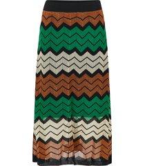 kjol wave knit skirt