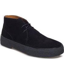 org-32-01-06 desert boots snörskor svart playboy footwear