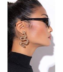 akira dragon tales oversized earrings