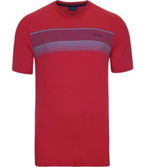 camiseta estampada vermelha icon - kanui