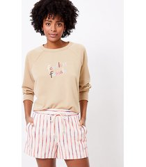 loft petite lou & grey fearless female terry sweatshirt