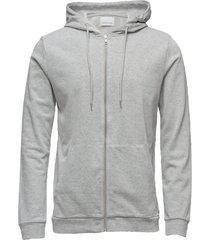 enno zip hoodie 7057 hoodie trui grijs samsøe & samsøe