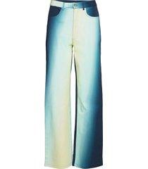 alexa pants casual broek blauw hosbjerg