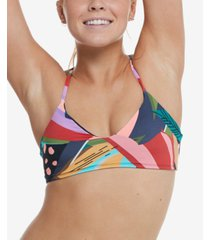 body glove printed hero alani swim top women's swimsuit