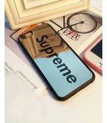 black stylish shock defense supreme mirror case for apple iphone 6/6s, 4.7 inch