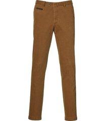 sale - jac hensen pantalon - modern fit - bruin