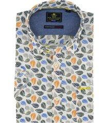 overhemd new zealand bladeren maungatautari