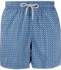 bluemint logan twilight blaze-print swim shorts