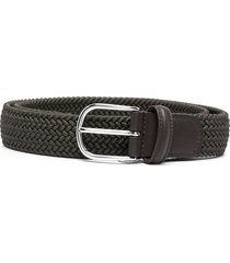 anderson's interwoven elastic belt - green