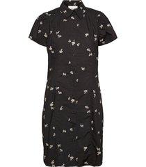 california dress kort klänning svart second female
