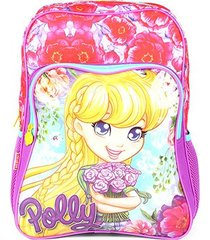 mochila infantil sestini polly com bolso