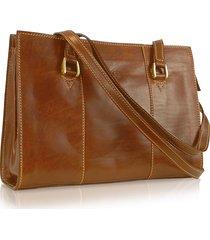 chiarugi designer handbags, handmade brown genuine italian leather zip satchel bag