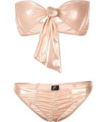lisa marie fernandez poppy bikini - gold