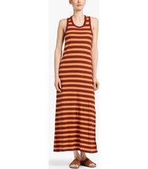 vintage stripe tank dress
