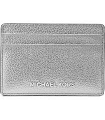 michael kors silver card holder