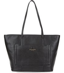 empire city shopper leather tote