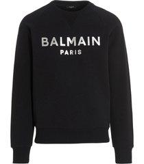 balmain foil sweatshirt