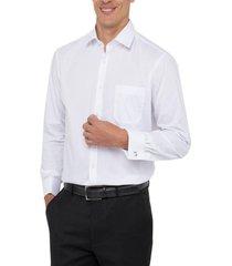 camisa formal puño doble blanco arrow