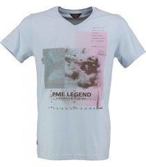 pme legend lichtblauw t-shirt