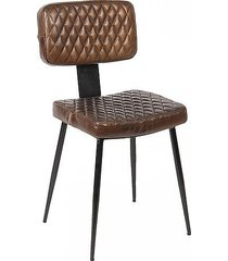 krzesło tapicerowane vintage juarez