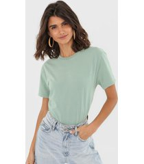 camiseta oh, boy! basic verde - verde - feminino - algodã£o - dafiti